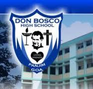 Don Bosco High School Panjim Panaji Admission 2018 19