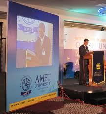 Academy of Maritime Education & Training (AMET University) Auditorium