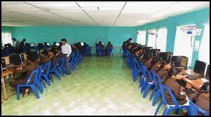 Adaikalamatha Institute of Management Computer Lab