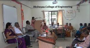 Aksheyaa College of Engineering (ACE) Auditorium