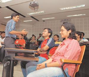 XLRI Jamshedpur School of Business & Human Resources Classroom
