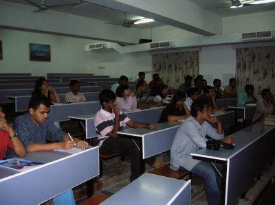 Xavier Institute of Management Classroom
