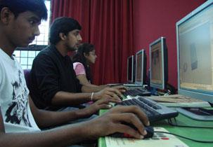 Vriksha Academy of Media Arts Computer Lab