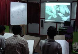 Vriksha Academy of Media Arts Classroom