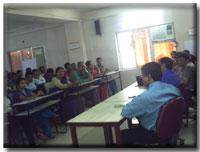 Vivekanand College, Surat Classroom