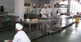 Institute of Hotel Management, Catering Technology and Applied Nutrition (IHMCTAN) Kitchen