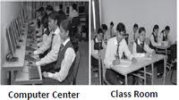 Vidya Knowledge Park (VKP) Computer Center and Classroom