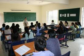 Bangalore City College Class Room
