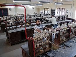 DG Ruparel College Laboratory