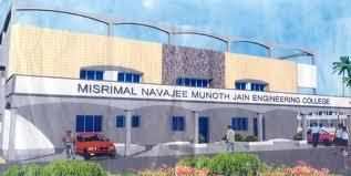 Misrimal Navajee Munoth engineering college Building