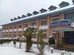 National Institute of Technology, Srinagar (NIT) Building