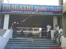Pragathi Pharmacy College Building