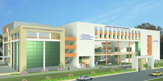 Pratibha College of Education Building