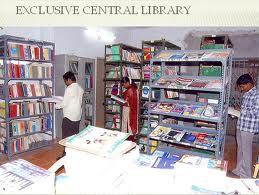 priyadarshini degree college Library