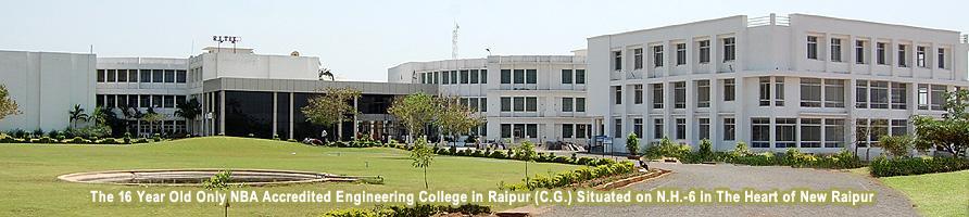 Raipur Institute of Technology (RITEE) Building