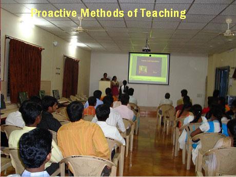 SDGS College Anantapur Classrooms