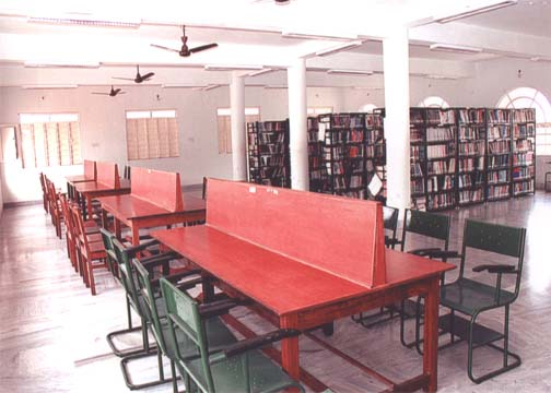Sengunthar Arts and Science College Library