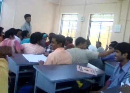 Sardar Patel College of Engineering Classroom