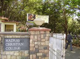 Madras Christian College Campus