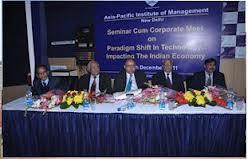 Seminar at Asia Pacific Institute of Management Studies (AIMS)
