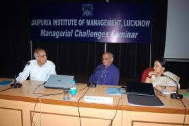 Seminar at Jaipuria Institute of Management Lucknow Campus