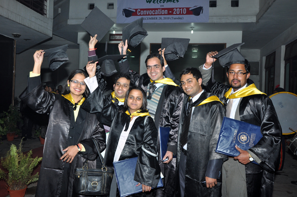 Institute of Management Studies Ghaziabad Convocation Day