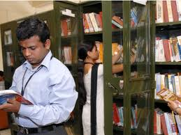 Library at Tirpude College of Social Work