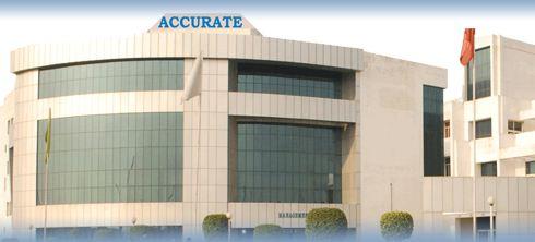 Accurate Institute Main Building