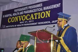 Institute of Health Management Research Convocation Day