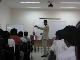 Chennai Business School Lecture Hall