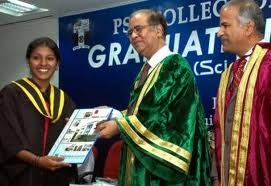 PSG College of Technology Convocation Day