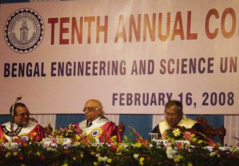 Bengal Engineering And Science University Convocation Day