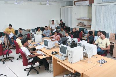 IIIT Hyderabad Computer Lab