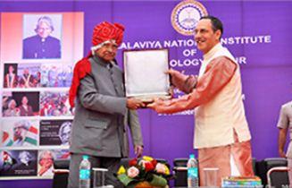 APG Abdul Kalam at MNIT Jaipur