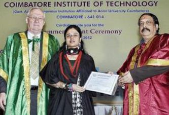 Coimbatore Institute of Technology Convocation Day