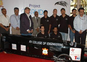 RVCE Bangalore Students at Project Garuda