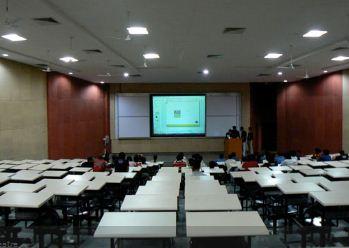 Dhirubhai Ambani Institute of Information and Communication Technology Seminar Hall