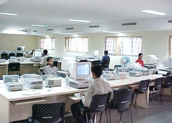 Dhirubhai Ambani Institute of Information and Communication Technology Staff Room