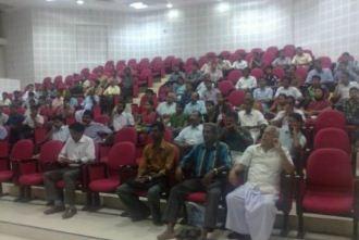 College of Engineering Trivandrum Seminar hall