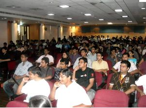 BMS College of Engineering Bangalore Seminar Hall