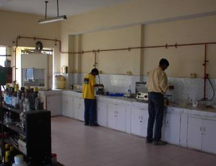 Bangalore Institute of Technology (BIT) Chemistry Lab