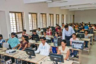 Dharmsinh Desai University Computer Lab