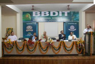 National Seminar at Babu Banarasi Das National Institute of Technology and Management