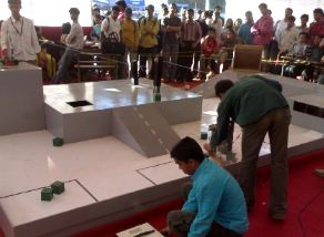 Robotic Event at Vishwakarma Institute of Technology Pune