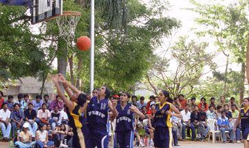 Siddaganga Institute of Technology - SIT Tumkur Basketball Court