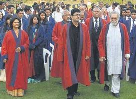 Mudra Institute of Communications (MICA) Convocation Day