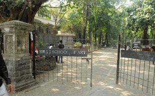 Sir JJ College of Architecture Entrance