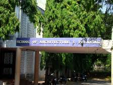 School of Architecture and Planning Entrance