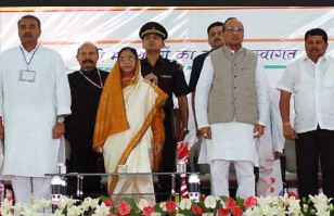 Pratibha Patil at Manoharbhai Patel Institute of Engineering and Technology