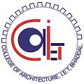 College of Architecture, IET Bhaddal Logo